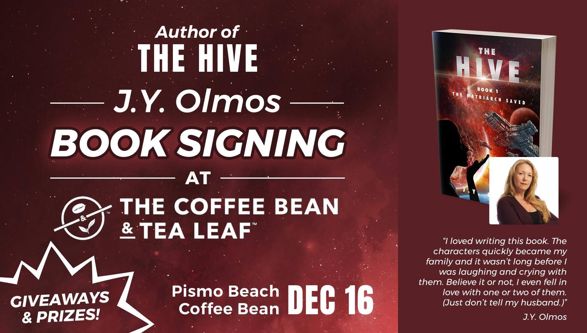 J. Y. Olmos book signing