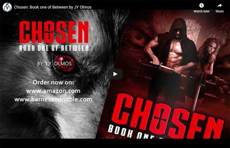 Chosen: Book One of Between - video trailer
